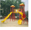 Iron & Plastic Multi Play Station Playground Equipment, Age Group: 5 To 15 Years