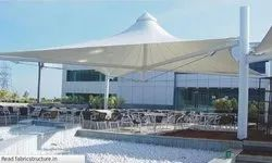 Conical Gazebo PVC Tensile Structure