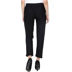 Black Ladies Formal Trouser