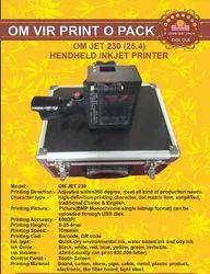 OMJET 230 (25.4) HANDHELD INKJET PRINTER