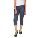 Plain Stretchable Ladies Capri