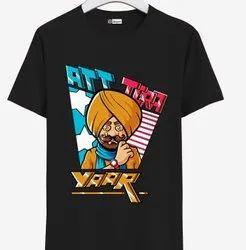 Hatch Digital Media Casual Wear, Printed T-shirt