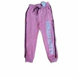 Printed Light Pink Kid Girls Cotton Pajama, Age Group: 8-16 Years