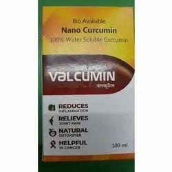 Valcumin Nano Curcumin Syrup, Packaging Type: Box