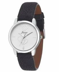 Black Analog Women Wrist Watch