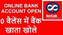 Kotak Mahindra Bank Account Opening Service