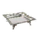 Silver Plated Square Tray
