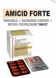 Diloxanide Furoate Tinidazole And Methyl Polysiloxane Tablet