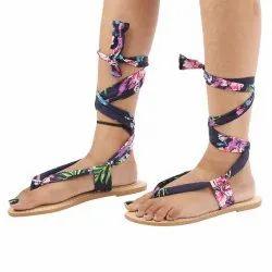SAINT G Flat Multi Color Ethnic Footwear, Size: 35-36-37-38-39-40-41