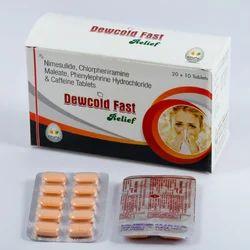 Nimesulide Chlorpheniramine Maleate, Phenylephrine Tablets