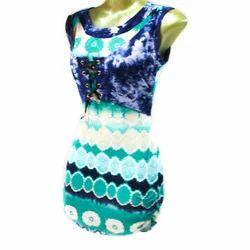 Chiffon Round Neck Ladies Designer Top, All Colour