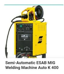 Semi Automatic ESAB MIG Welding Machine Auto k 400