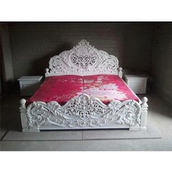 White Marble Bed