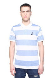 Fashionable Striped Polo T-Shirt For Men