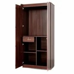 OHM Wooden Particle Board Almirah for Home
