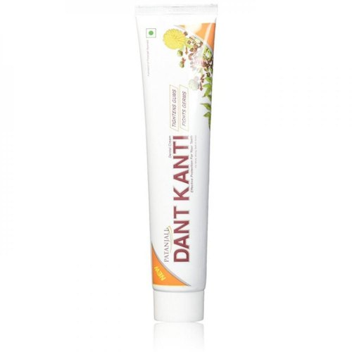 Patanjali Dant Kanti Toothpaste 100gm Pack Of 5