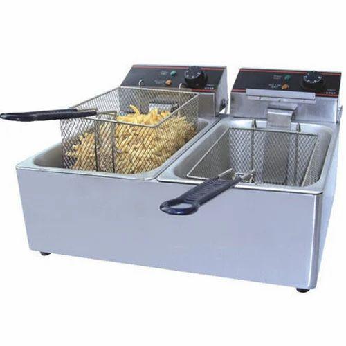 Electric Double Deep Fryer at Rs 7200/piece   Burari