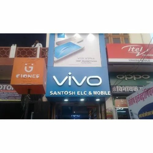 Mobile Shop Led Sign Board