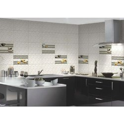Ceramic Johnson Star Printed Kitchen Tiles, Thickness: 5 mm, Size: 10X15 Inch
