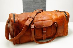 Handmade  Leather Duffel Bag