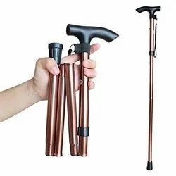 Walking Stick Folding With Height Adjustable