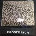 Bronze Etch Designer Sheet