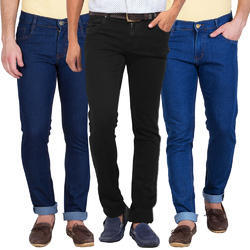 Denim Plain Men Jeans