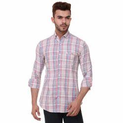 Men's Checks Executive Shirts