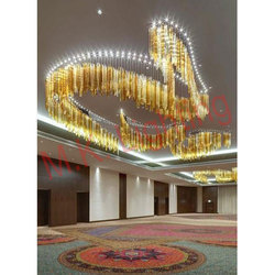 Glass Crystal Big Size Chandelier
