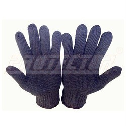 Knitted Blue 40 Protector Hand Gloves