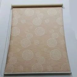 Printed PVC Window Roller Blind, Size: 4-5 Feet