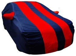 Red & Blue Car Water Proof Body Cover