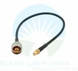 RF Cable Assemblies N Male to SMA Female in LMR 200