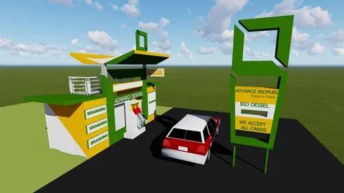 Kiosk Biofuel Pump
