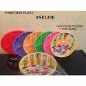 Selfie Plastic Partition Plate