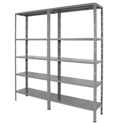 Global Grey Shelving Unit, For Office, 4-5
