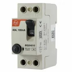 L&T 25A Double Pole RCCB
