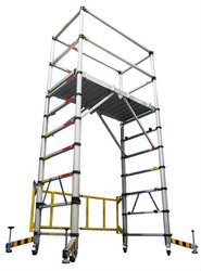 Mobile Scaffolding without Step