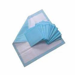 Nylon Blue Pad, Size: 15x15 Cm