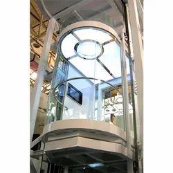 Panoramic Passenger Circular Glass Elevator