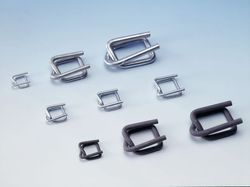 Stainless Steel Cord Strap Buckle, For Packaging, Packaging Type: Box