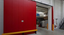 GI and SS Automatic Sliding Fire Door
