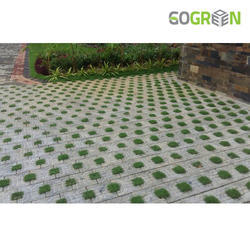 Go Green Chequered Grass Pavers