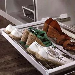 Soft Close Shoe Rack