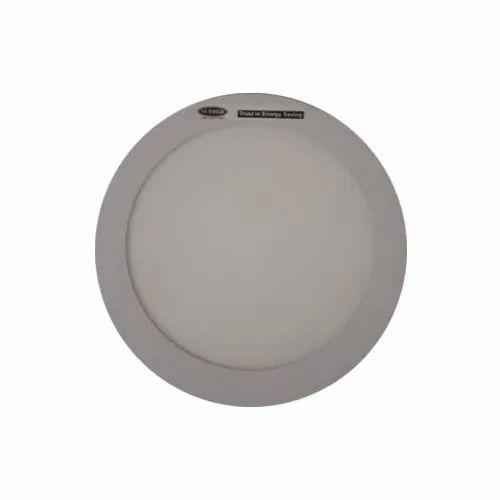 Cool White LED 9  W Round Panel Light