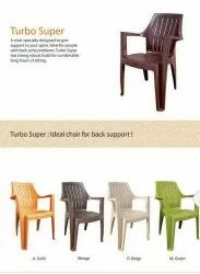 Brown With Hand Rest (Arms) Supreme Turbo Chair, Warranty: 1 Year