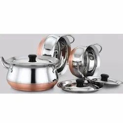 Avon Copper Bottom Handi Set