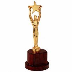 Golden,Brown Plain Star Award
