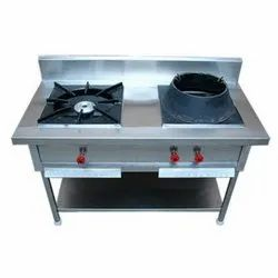 Two Burner Chinese Gas Range