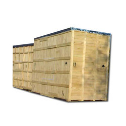 Heavy Machinery Packing Wooden Box